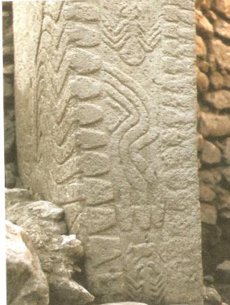 Gobekli Tepe - Relieve de serpientes y arañas