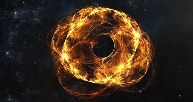 Astrónomos descubren un «desnudo y solitario» agujero negro desplazándose a 3.200 Km / s