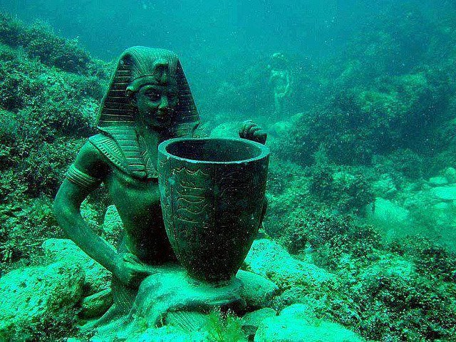 Antiguas Ciudades hundidas de la antigua civilizacion antes de la nuestra