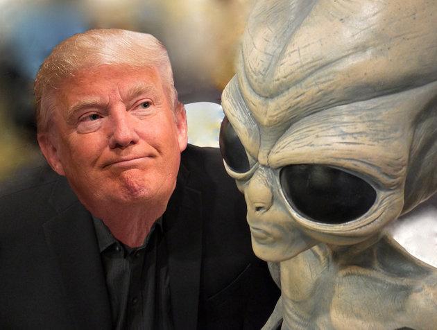 Trump extraterrestre - Donald Trump revelaría secretos extraterrestres de los últimos 60 años (Video)