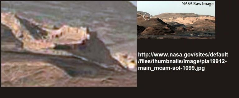 seria esta la foto de una muralla en marte - ¿Sería esta la foto de una muralla en Marte?
