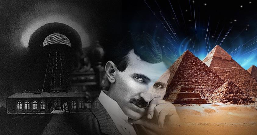 ¿Podrían la Gran Pirámide de Giza y la Central Eléctrica de Tesla compartir la misma tecnología?