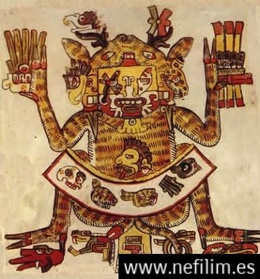 Xochipilli 1 - La Atlántida era: Reptilianos comehombres y anunnakis