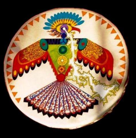 pajaro trueno - El pájaro trueno de las leyendas norteamericanas