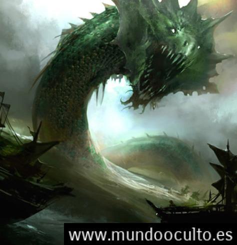 Relato de la Serpiente Marina de Madagascar