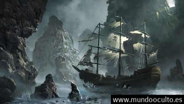 el misterioso barco de la muerte 1 - EL MISTERIOSO BARCO DE LA MUERTE