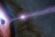 Imposible evento cósmico: Telescopio captura el momento en que un objeto fue expulsado de un agujero negro.