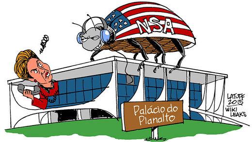 Brasil al desnudo: La NSA espía hasta el teléfono del avión y el móvil personal de Rousseff
