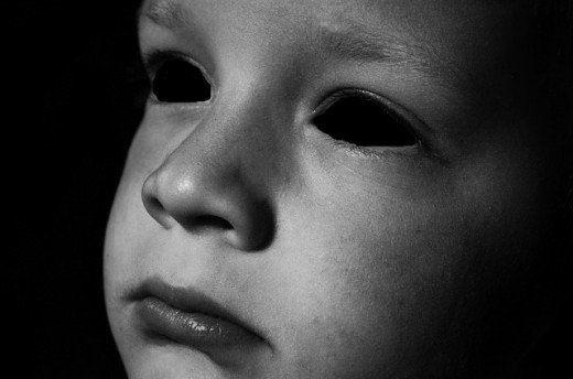 La Leyenda de los niños de ojos negros