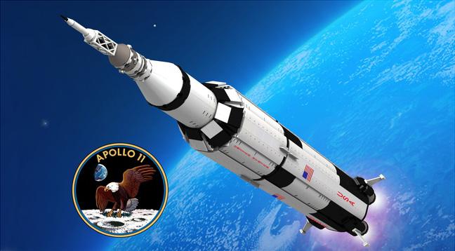 JV Apolo XI 1 - Julio Verne y sus increíbles vaticinios que parecían ciencia ficción y hoy son toda una realidad.
