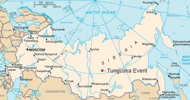 "Evento ""Tunguska"". misterio sin desvelar.."