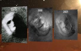 """Ex científico de la NASA confirma que """"La cara gigante y la pirámide encontradas en Marte son reales"""""""