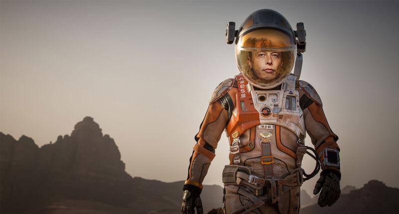 Hace más de medio siglo alguien escribió que colonizaríamos Marte dirigidos por una persona llamada Elon