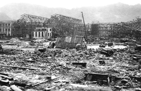13 blast damage 1218012i - HIROSHIMA Y NAGASAKI: Lo que no nos cuentan en clase de historia