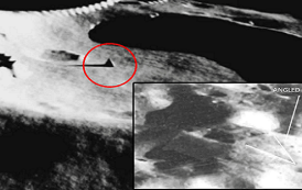 ¡Descubren evidencia de antiguas Pirámides y fortalezas en la luna!