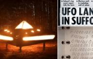 Un mensaje del año 8100 fue revelado a un militar luego de tocar un OVNI