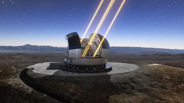 Así es el telescopio más grande del mundo en Chile