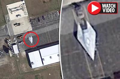 es esta la aeronave de combate hipersonica de 4 602 mph de la usaf google earth descubre misteriosa nave en florida - Es esta la aeronave de combate hipersónica de 4.602 mph de la USAF? Google Earth descubre misteriosa nave en Florida