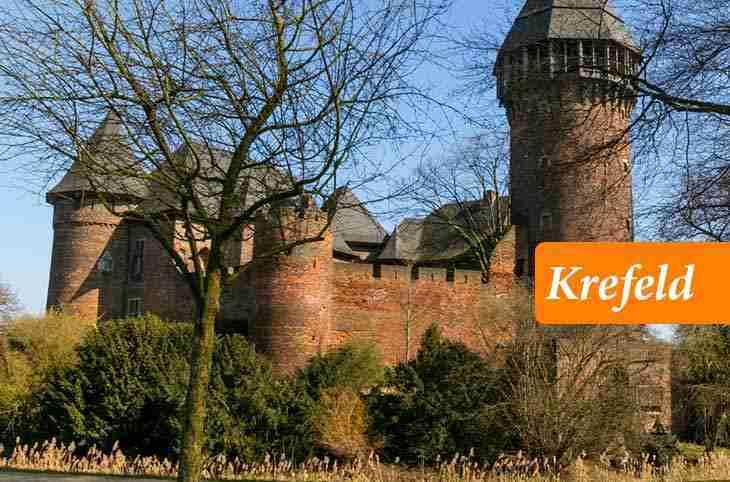 مدينة كريفيلد الألمانية Krefeld