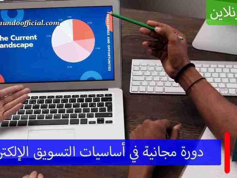 دورة أونلاين مجانية في أساسيات التسويق الإلكتروني من جامعة ماري لاند الأمريكية