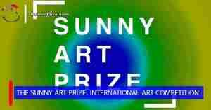 مسابقة Sunny Art للفنون وجوائز مالية تتجاوز 6000 جنيه إسترليني