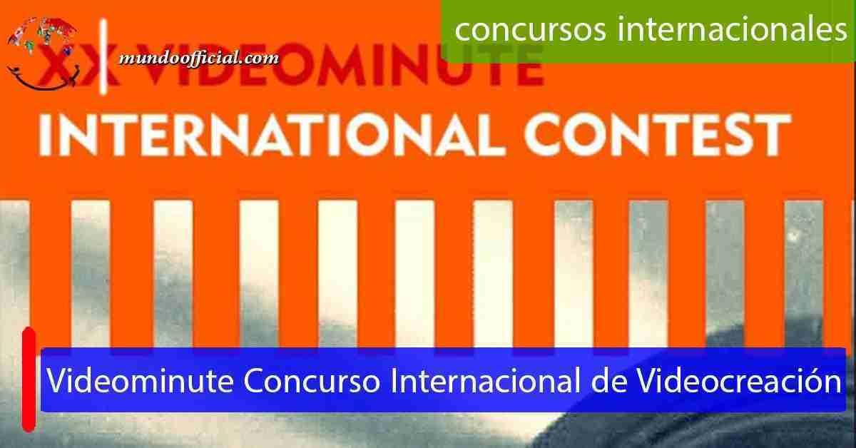 XX Videominute Concurso Internacional de Videocreación
