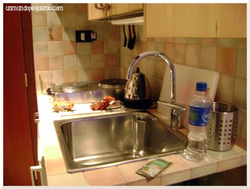 Residence Candia Cocina completa