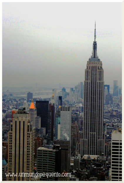 Empire view from Top of the Rock