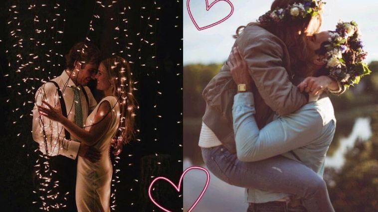 dois casais apaixonados se amando