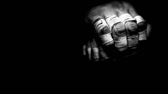 mão machucada de praticar jiu jitsu
