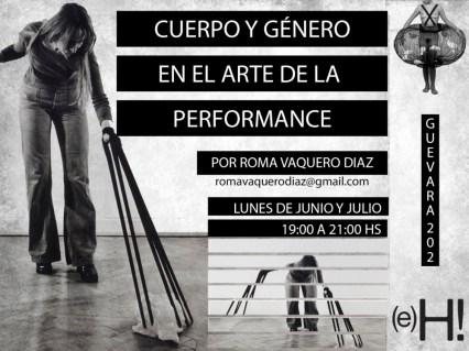 Laboratorio Cuerpo y género en el arte de la performance Experiencia Hiedra  CABA ARGENTINA 2017