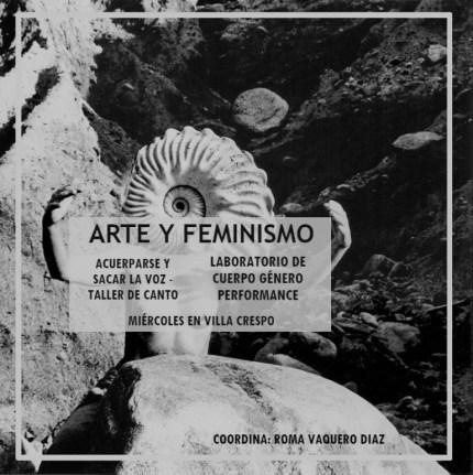 Arte y feminismo Villa Crespo CABA ARGENTINA 2018