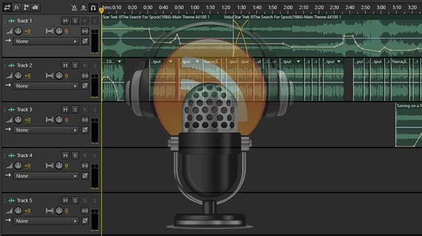 Linha do Tempo: Ediçío de um Podcast