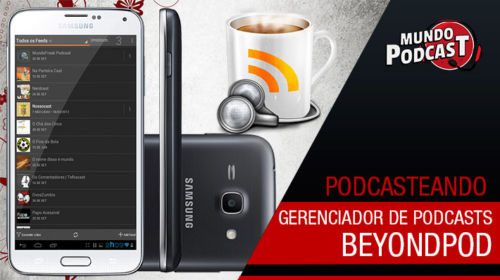 BeyondPod – Gerenciador de Podcasts
