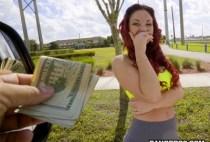 Bang Bus - Brooke Beretta - Yoga Hoser Hops On The Bus