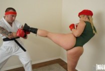 I Know That Girl - Video Game Cosplay Fuck - AJ Applegate