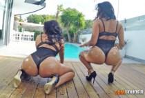 StunningButts - Kesha Ortega & Sheila Ortega - Ass Sisters