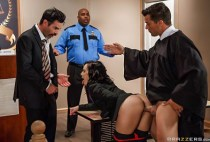 Big Butts Like It Big - Kristina Rose - Judge, Jury, And Double Penetrator