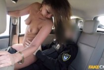 FakeCop – Olivia Netta – Cops Cum Makes Her Late