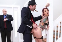 Real Wife Stories - The Don Whacks My Wife's Ass