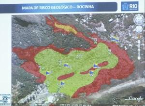 Areas of Risk in Rocinha