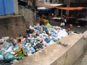 Garbage in Rocinha