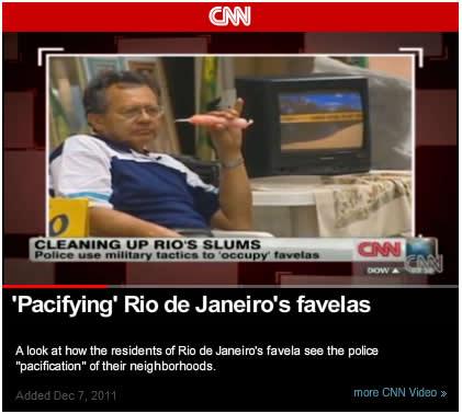 Rocinha CNN Backstory