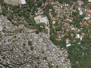 Contrast Rocinha Gavea