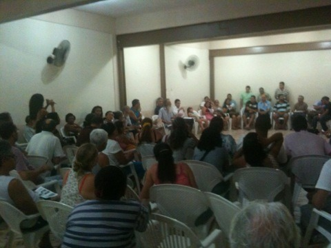 Resumo e análise da reunião Rocinha Sem Fronteiras 21/09/2013
