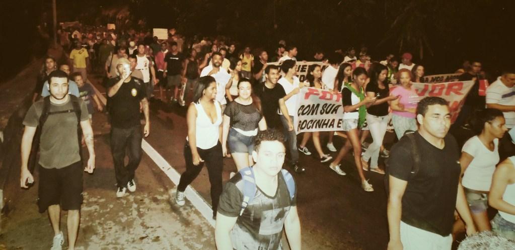 protests june 2013 rocinha