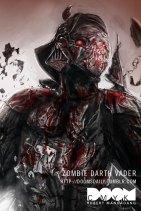 Zombie Darth Vader by Robert Mangaoang