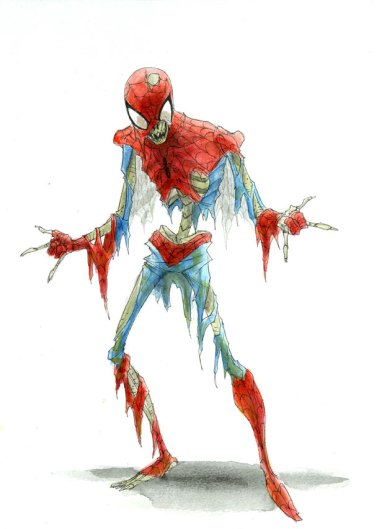 Zombie Spider-Man by RM73