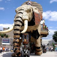 Elefante Robot Gigante + Bonus