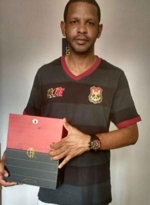 O torcedor-símbolo dos 120 anos do Flamengo